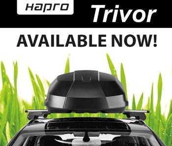 Střešní box Hapro Trivor 560 Supermatt Anthracite