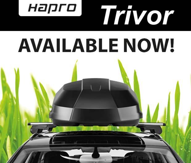 Střešní box Hapro Trivor 640 Supermatt Anthracite