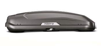 Střešní box Hapro Trivor 440 Supermatt Anthracite
