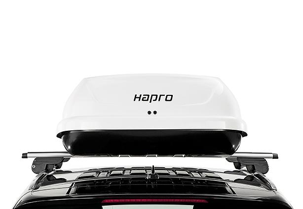 Střešní box Hapro Traxer 6.6 Pure White